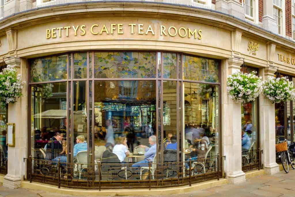 Betty's Tea Rooms in York, Engeland