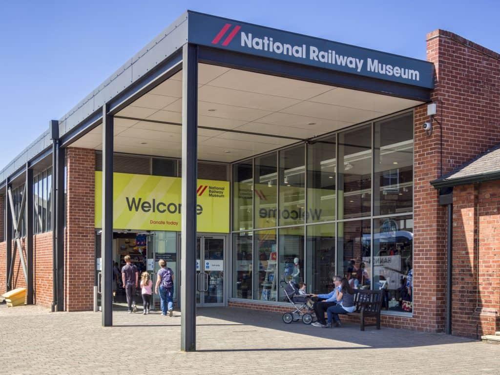 National Railway Museum in York, Engeland