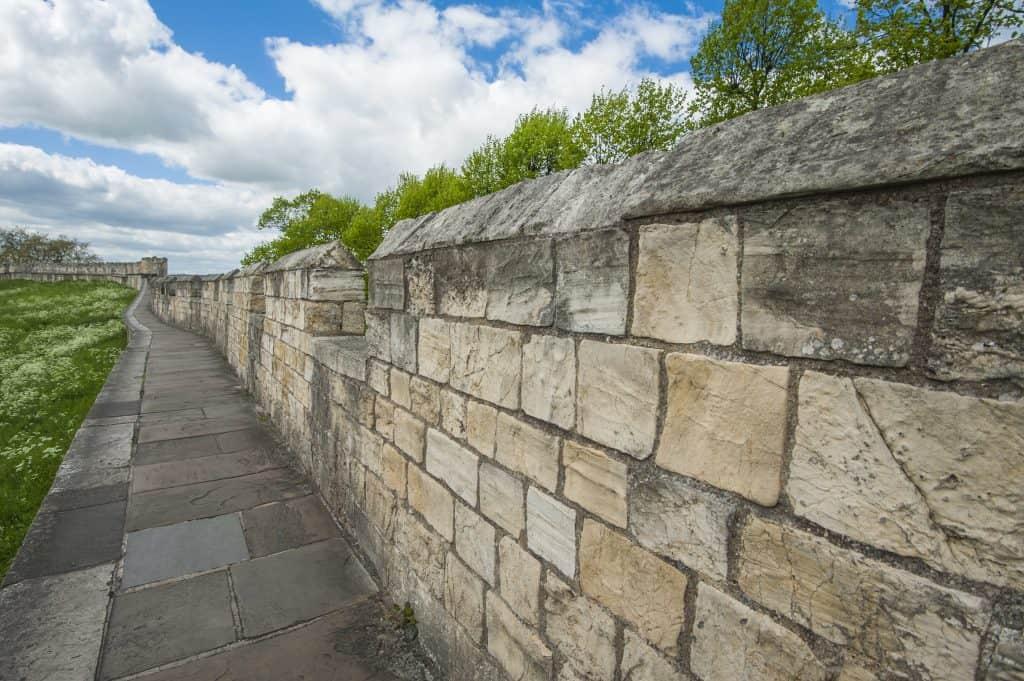 Stadsmuur van York, Engeland