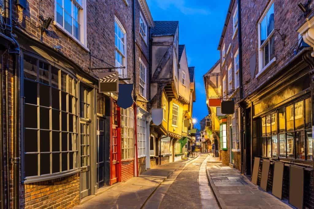 The Shambles in York, Engeland