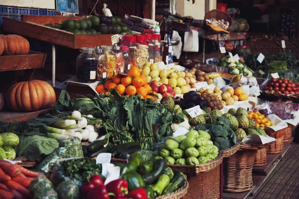 York Farmers' Market in York, Engeland